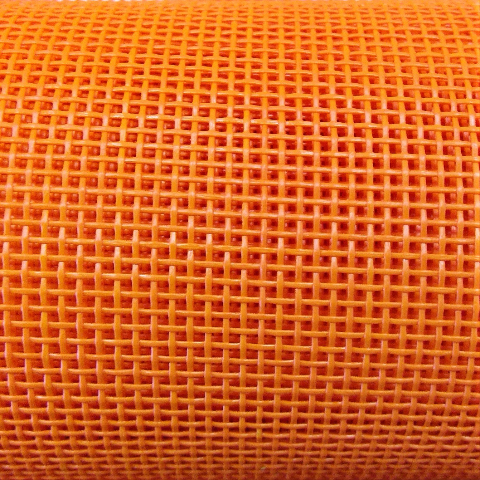 Vinyl Mesh 36 wide, Orange
