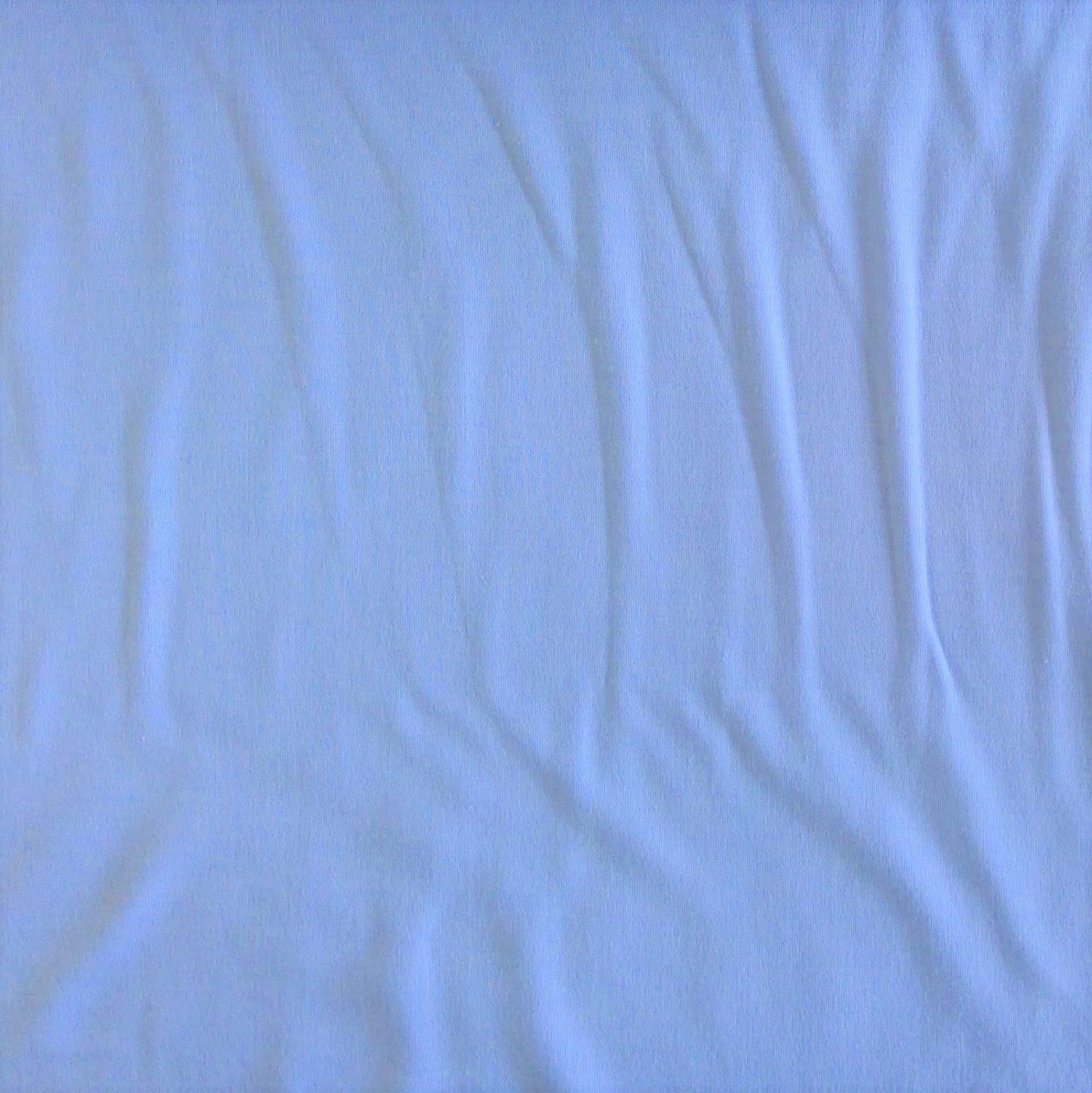 T-Shirt Interlock Cotton Blend Bare Knits Blue