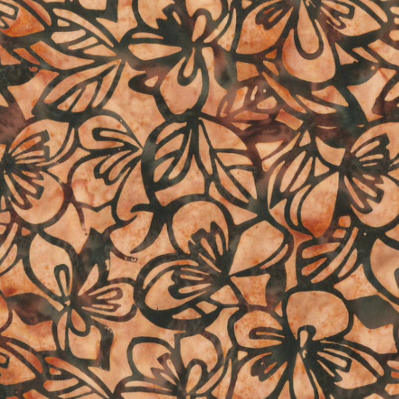 Batik 100% Cotton Anthology Autumn Rhythm Toast