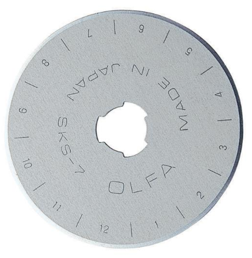 Olfa Rotary Blade 45mm, Single Blade