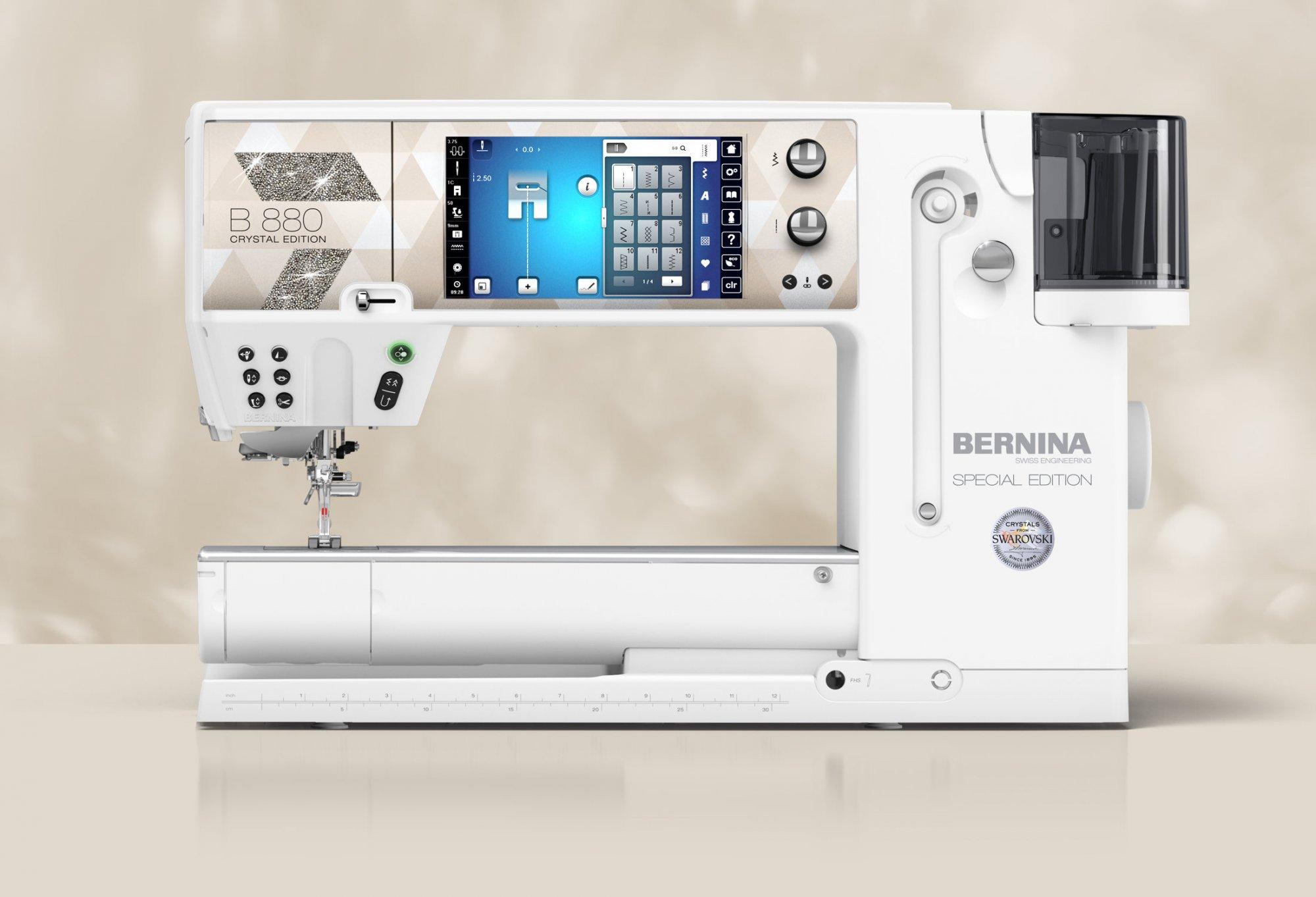 Bernina 880 Plus Crystal Edition