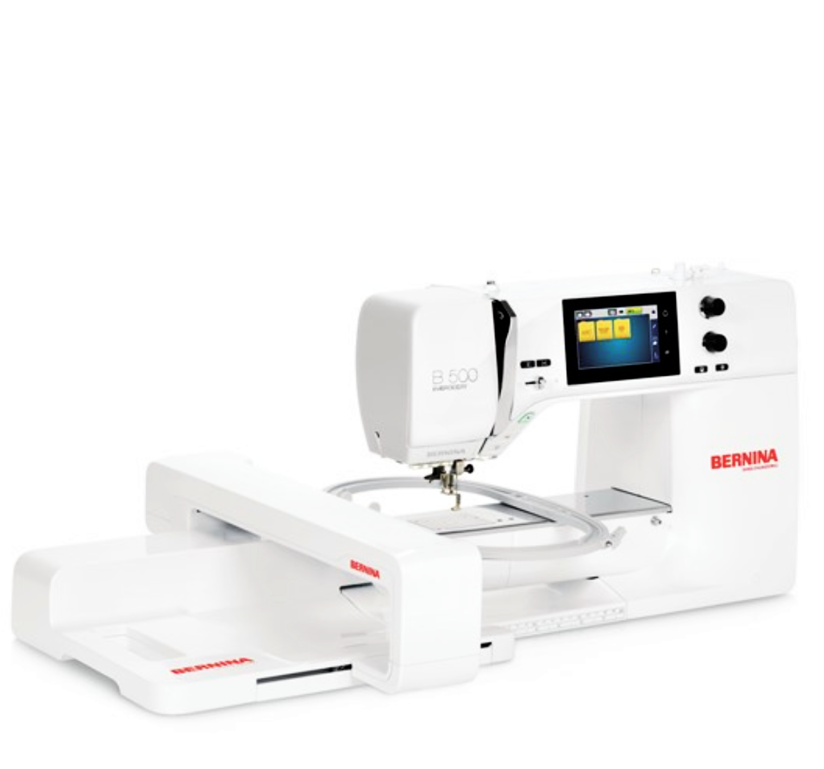 Bernina 500/B 500 E, Embroidery Only Machine
