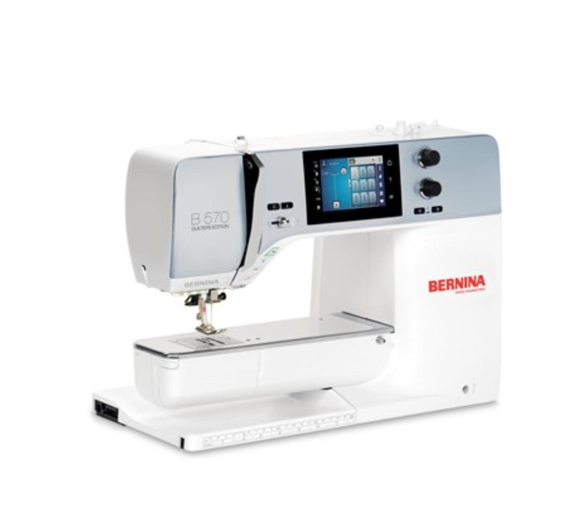 Bernina 570 QE / QE E Sewing/Quilting/ Embroidery Machine