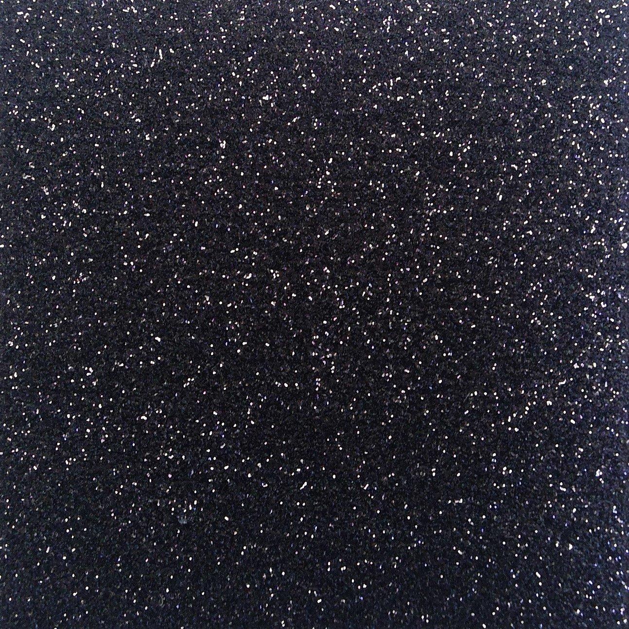 Heat Transfer Glitter Flake Black