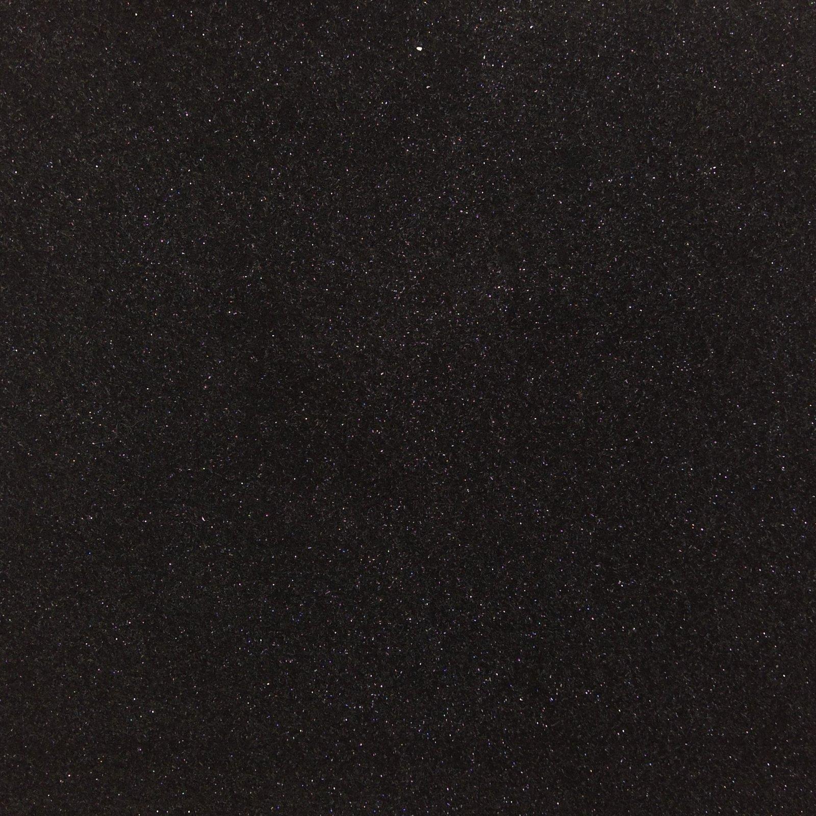 Felt Squares Package 9 x 12 Glitter Black
