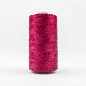 Thread Dazzle 8wt Rayon & Metallic 182m Boysenberry