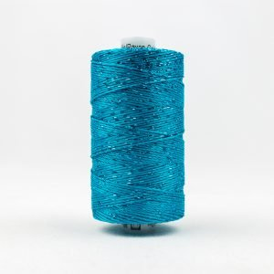 Thread Dazzle 8wt Rayon & Metallic 182m Dark Turquoise