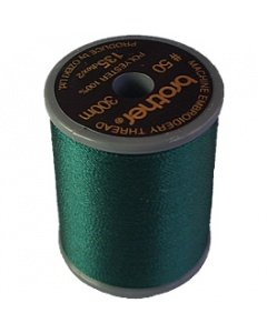 Brother Embroidery Thread Deep Green Polyester 300m