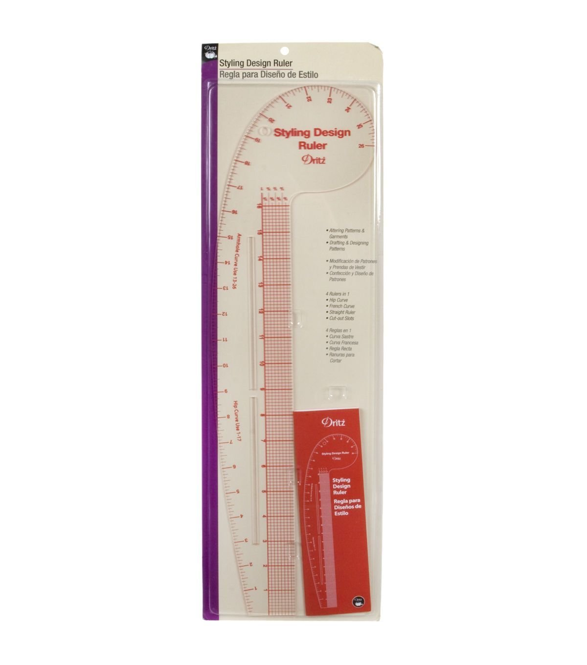 Dritz Styling Design/French Curve Ruler