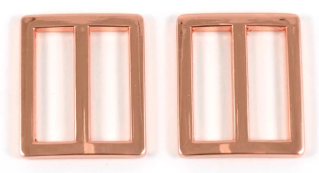 Sliders Flat Strap 25mm Copper