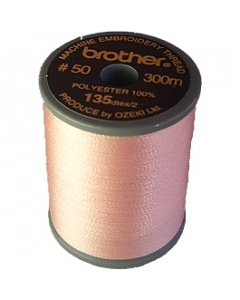 Brother Embroidery Thread Flesh pink Polyester 300m