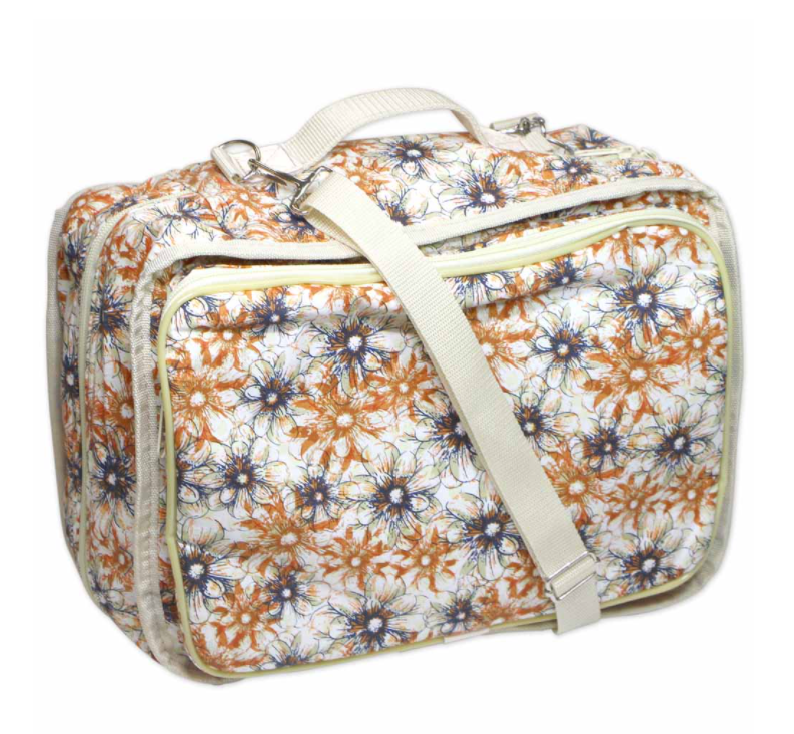 Vivace Craft Tote Flowers