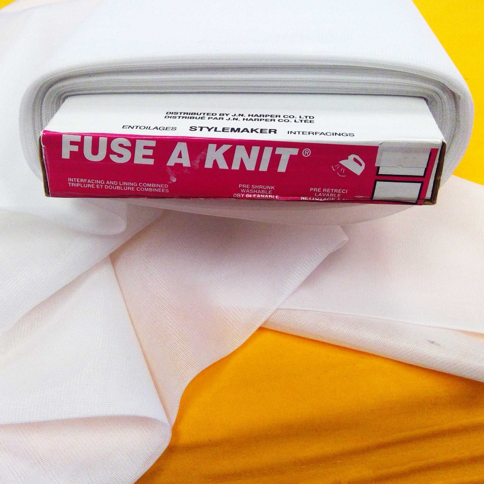 FUSE A KNIT Interfacing, White