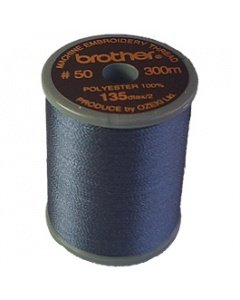 Brother Embroidery Thread Dark Gray Polyester 300m