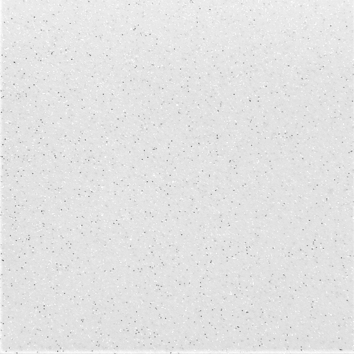 Heat Transfer Glitter Flake White