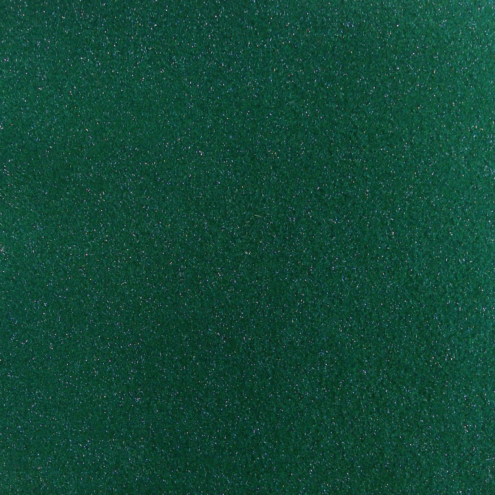Felt Squares Package 9 x 12 Glitter Kelly Green