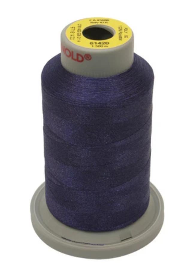 Gunold Embroidery Threa Super-Fine 60wt 1500m Navy Blue
