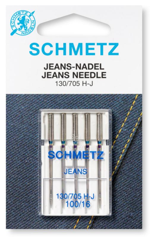 Jeans Needles 130/705H-J, 70/10 5Pk