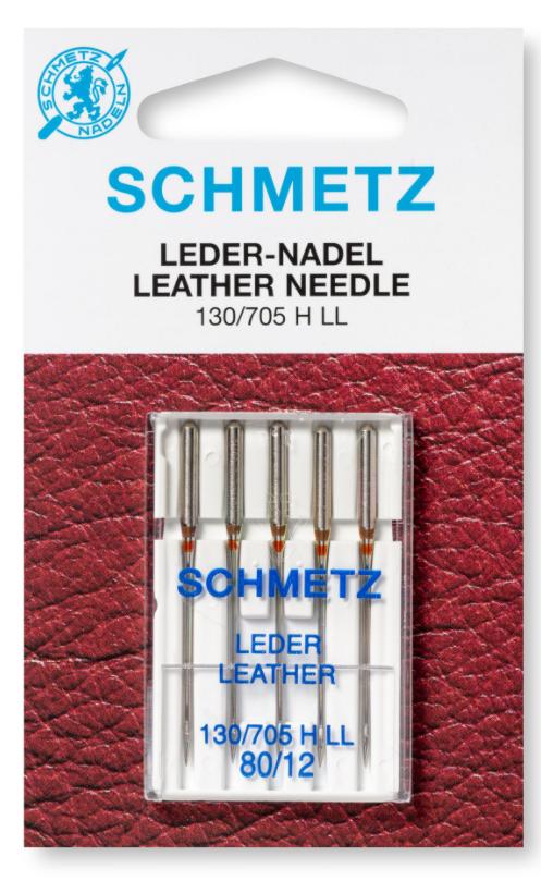 Leather Needles 130/705H-L, 70/10 5Pk