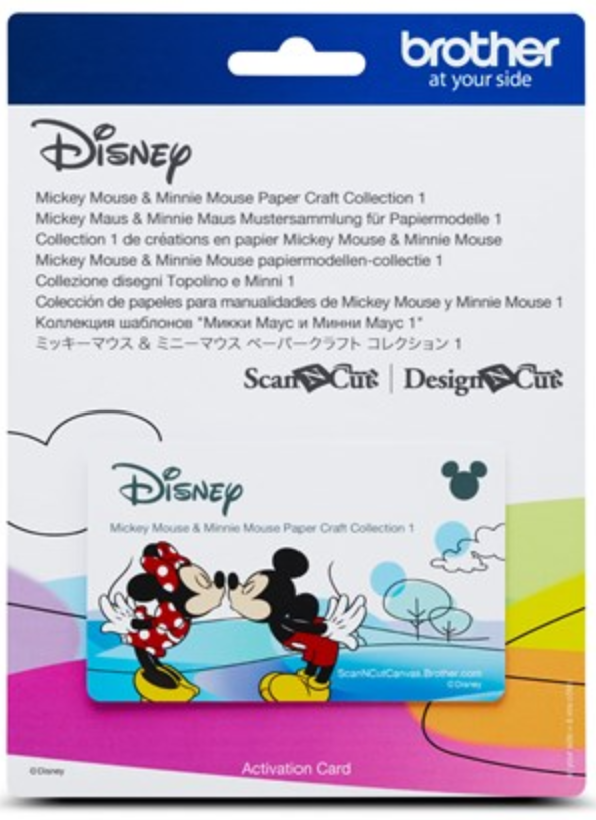 Disney Mickey and Minnie 1 Pattern Collection