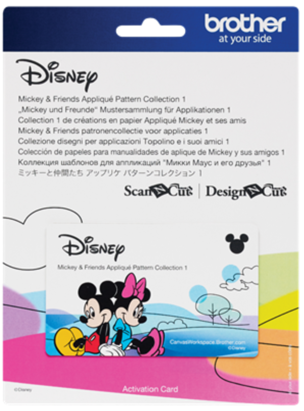 Mickey & friends Pattern Collection 3