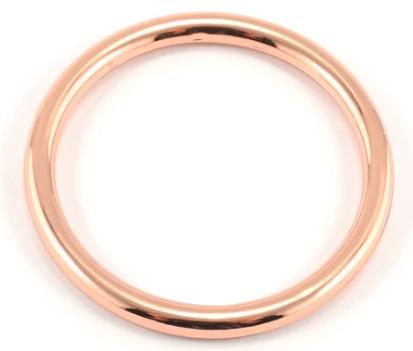 O-Rings Metal 38mm Copper