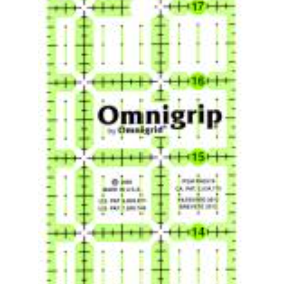 Omnigrid Ruler 2.5 x 18 With Angles Non-Slip