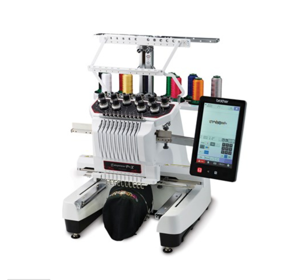 Brother PR1050X Professional Embroidery, 10 Needle