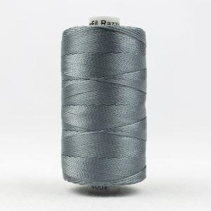 Thread Razzle 8wt Rayon 228m Dark Grey