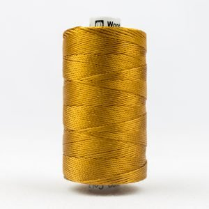 Thread Razzle 8wt Rayon 228m Golden Brown