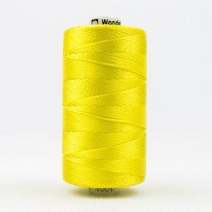 Thread Razzle 8wt Rayon 228m Lemon Yellow