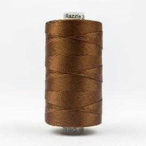Thread Razzle 8wt Rayon 228m Nutmeg