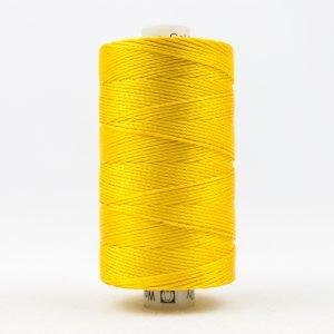 Thread Razzle 8wt Rayon 228m Sunny Yellow