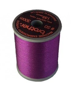 Brother Embroidery Thread Royal Purple Polyester 300m