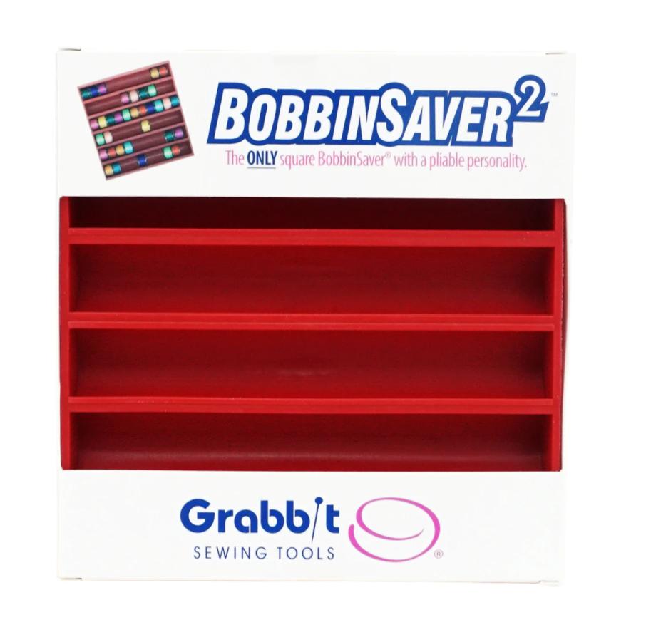 Grabbit Bobbin Saver Tray 2 Red