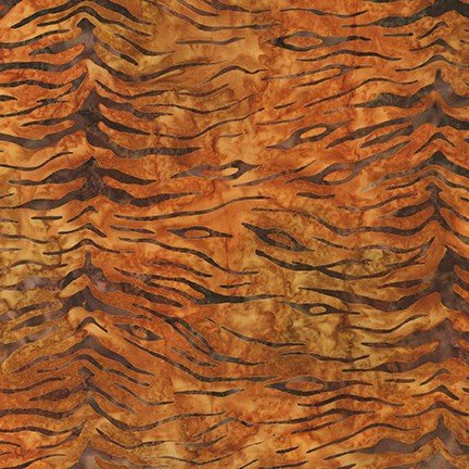 Batik 100% Cotton, Serengeti Saffron