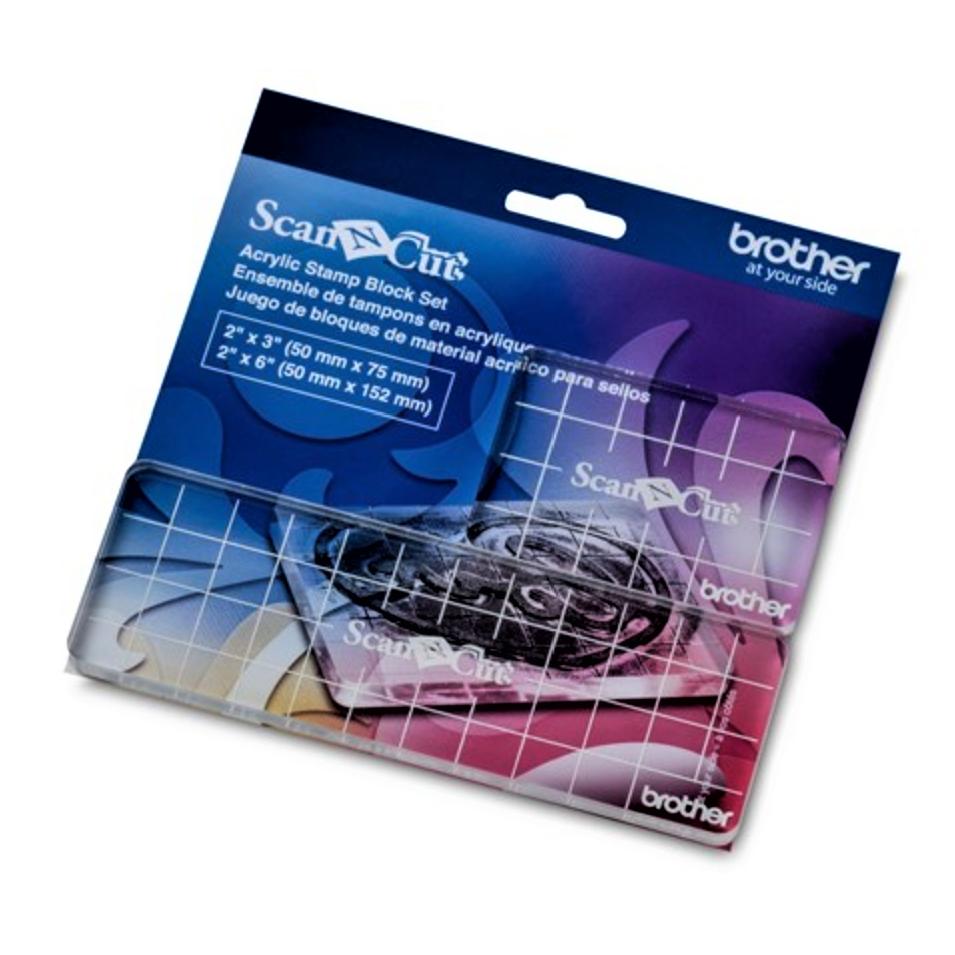 ScanNCut Acrylic Stamp Block Set CASTPBLS1