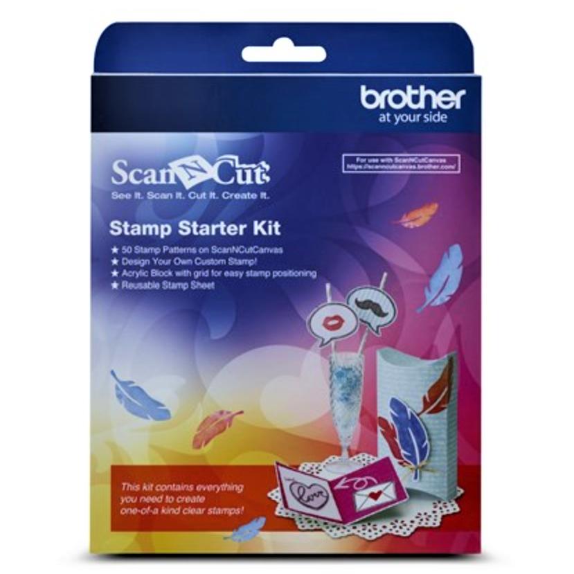 ScanNCut Stamp Starter Kit, CASTPKIT1