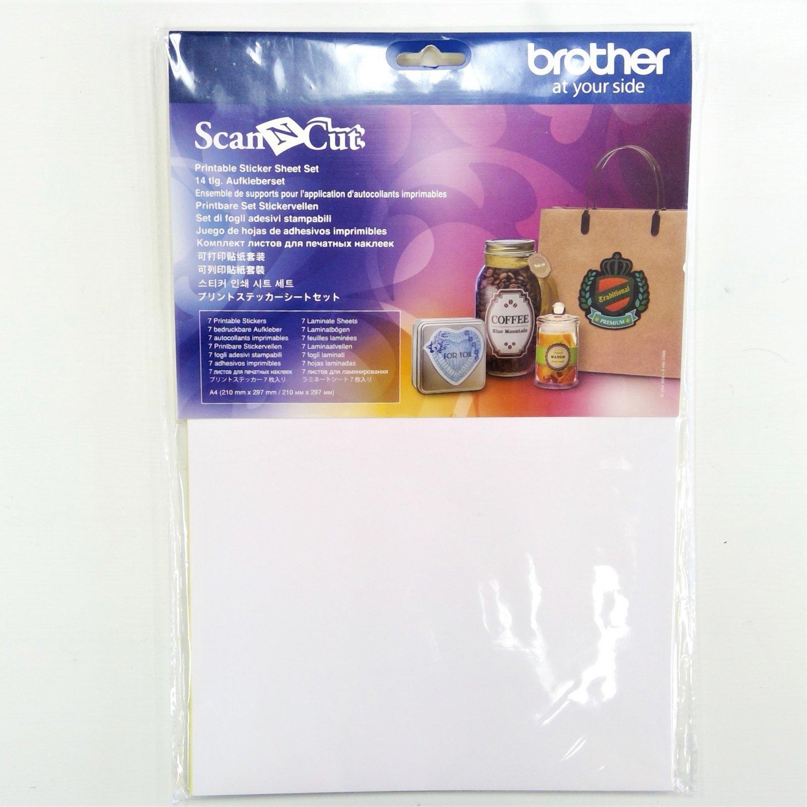 ScanNCut Sticker Sheet Set, CAPSS1