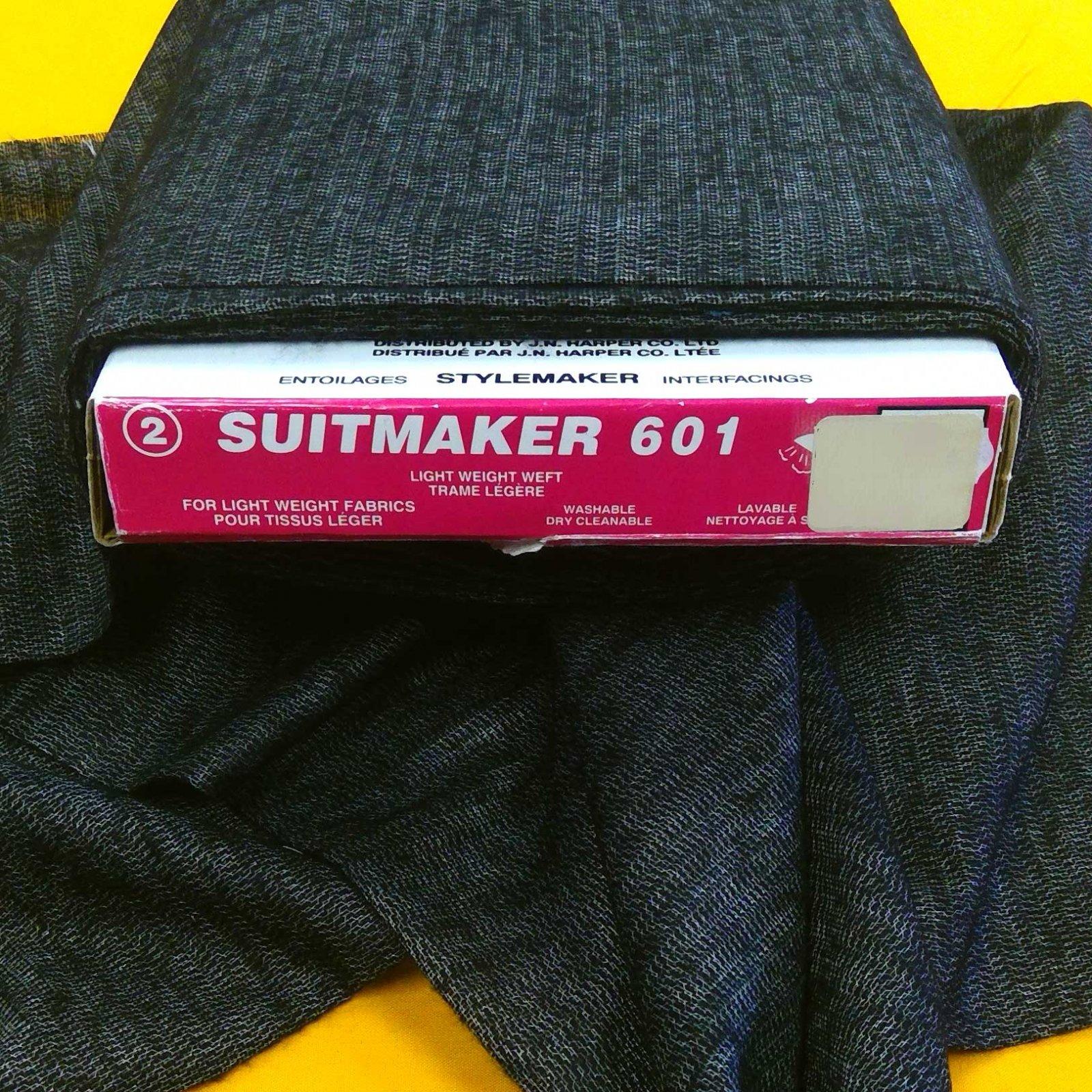 SUITMAKER 601 Interfacing, Black Marble