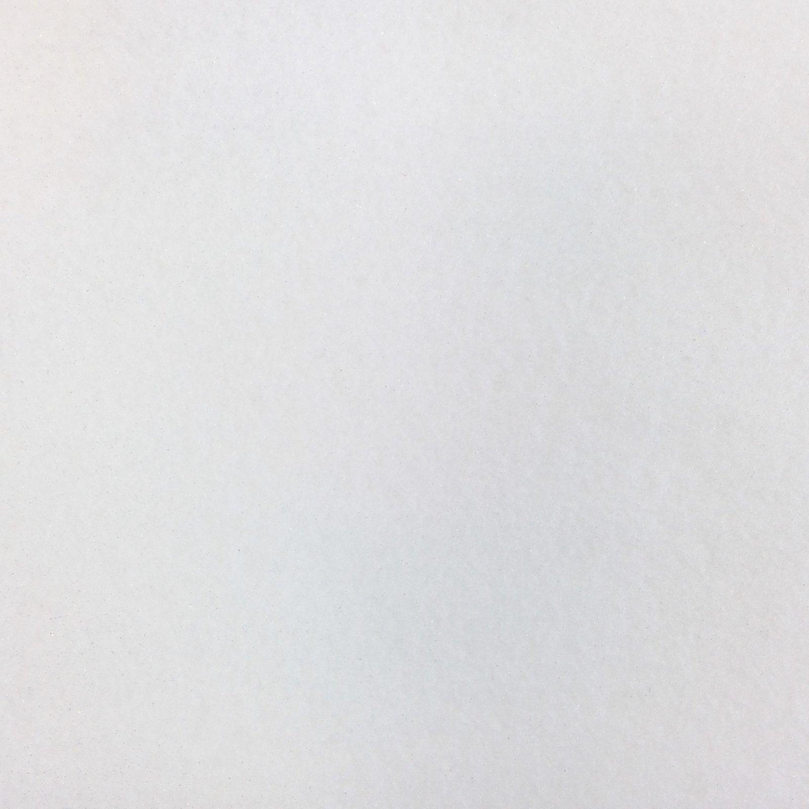 Felt Squares Package 9 x 12 Glitter White