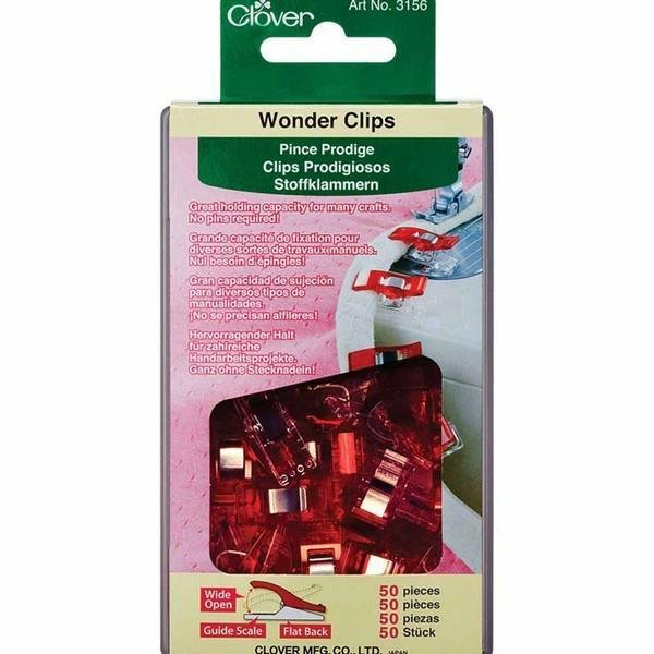 Clover Wonder Clips Small 50 Pack