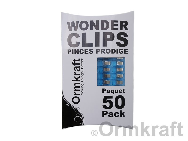Wonder Clips 50/pkg Mixed