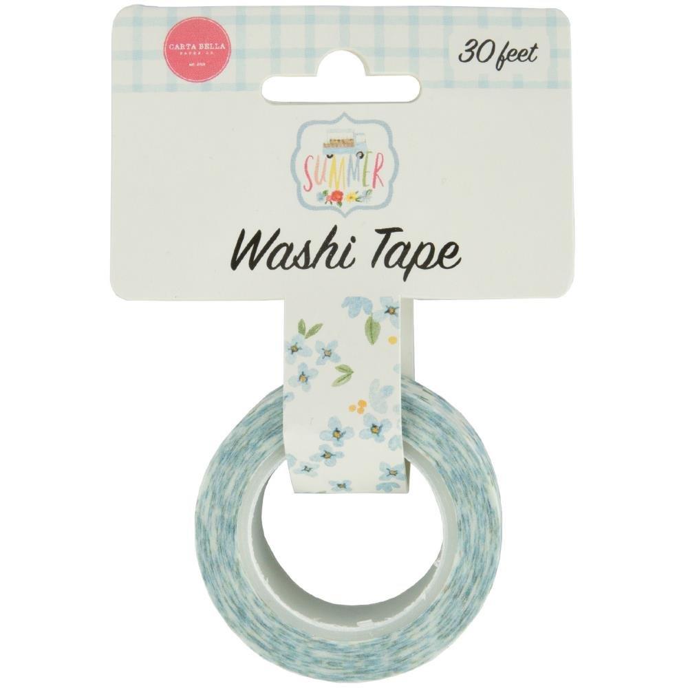 Carta Bella - Blue Blooms Washi Tape