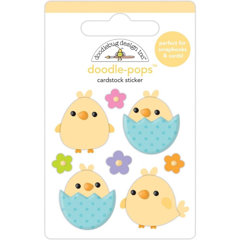 Doodlebug - Beak-a-Boo Doodle-Pops 3D Stickers