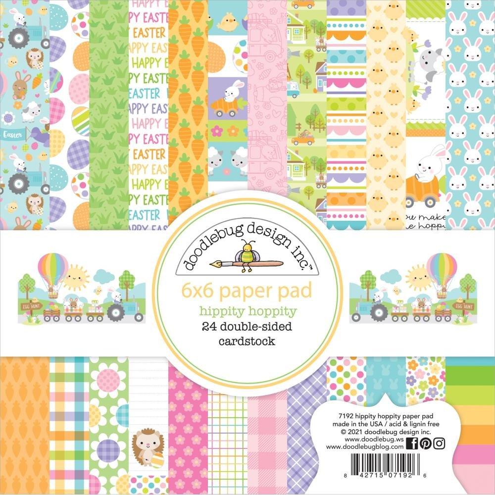 Doodlebug - Hippity Hoppity Paper Pad 6x6