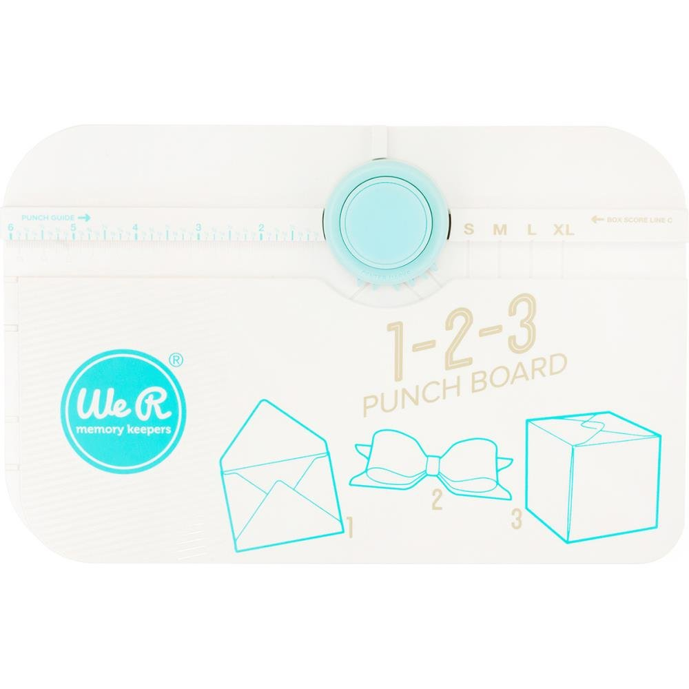 We R Memory Keepers - 123 Punch Board