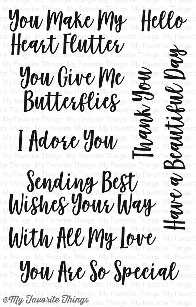 MFT - You Give Me Butteries Stamp Set