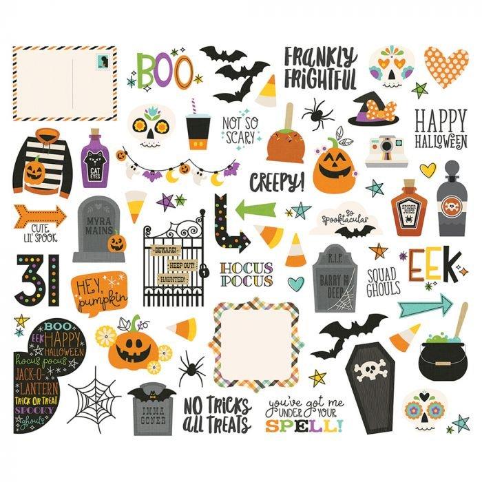 Simple Stories - Say Cheese Halloween Die Cuts