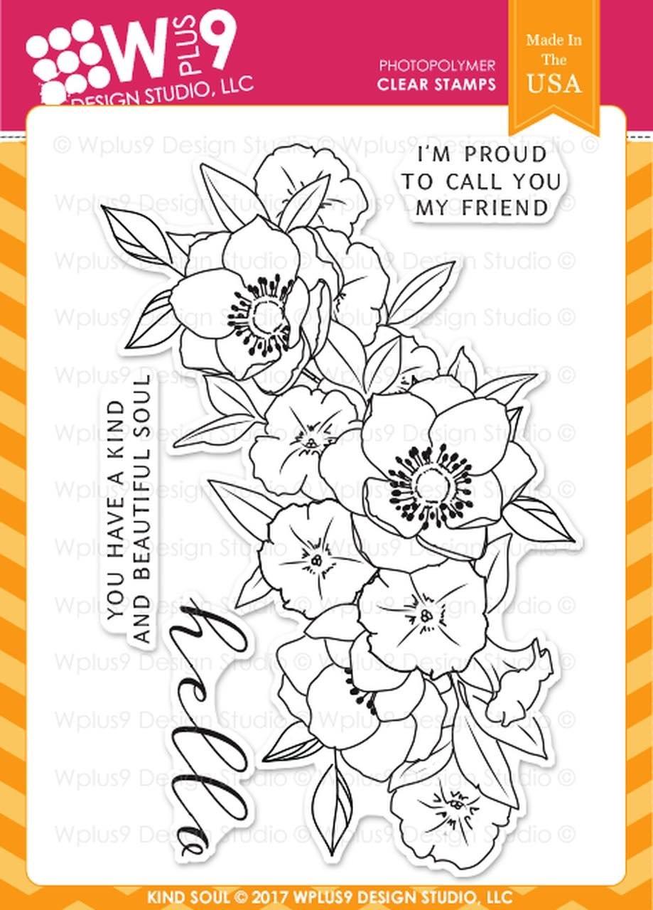 WPlus9 - Kind Soul Stamp Stamp Set